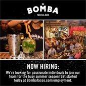 BOMBA hiring