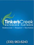 Tinkers Creek Watershed info: link opens in new window