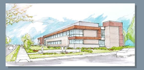 Manna Isle Ohio Hospital Rendering