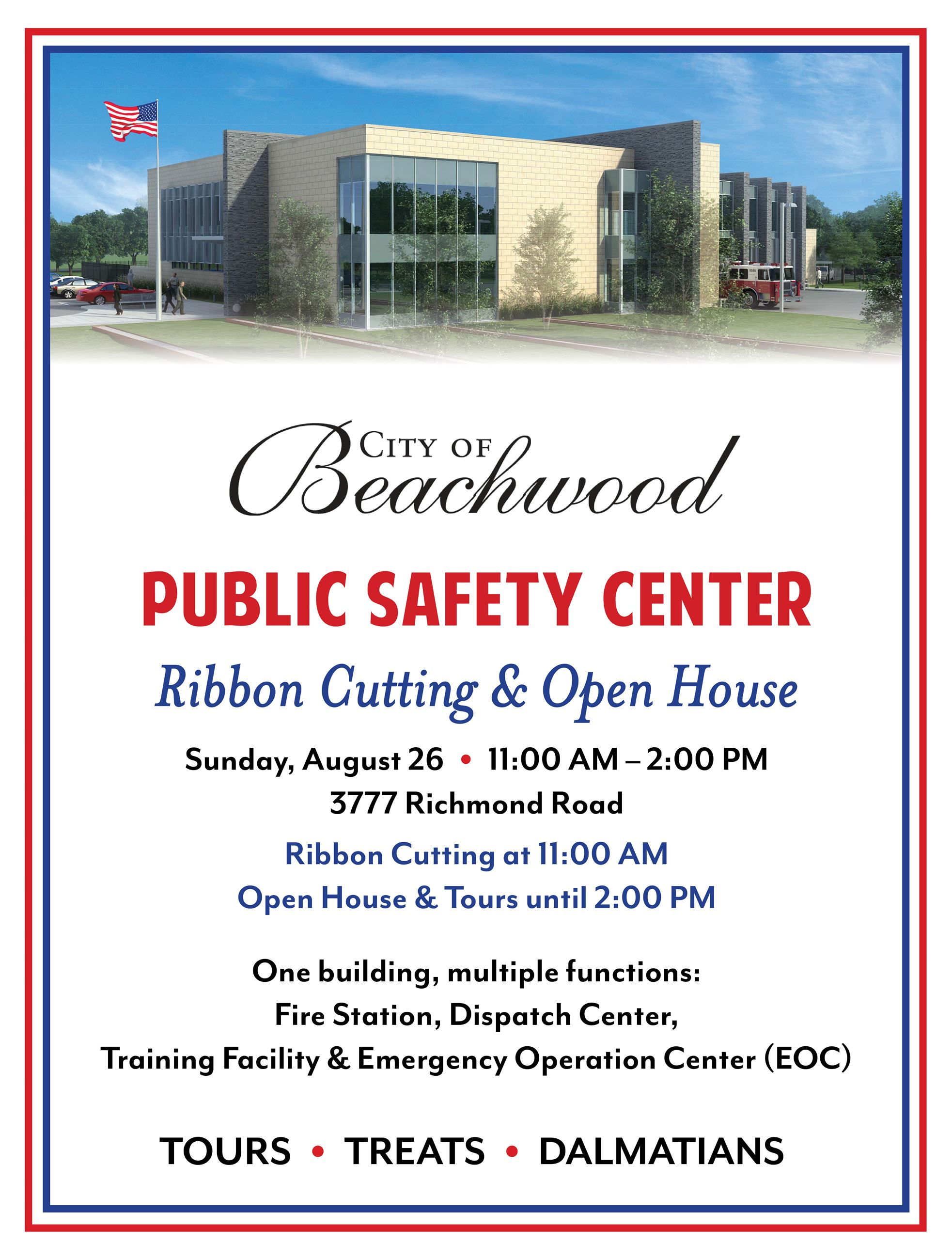 Public Safety Center Invitation 2018