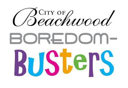 Logo that says City of Beachwood Boredom-Busters