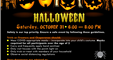 Halloween flyer: Trick-or-Treating will take place
