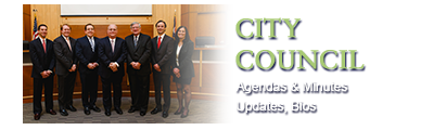 City Council - Agendas and Minutes, Updates, Bios